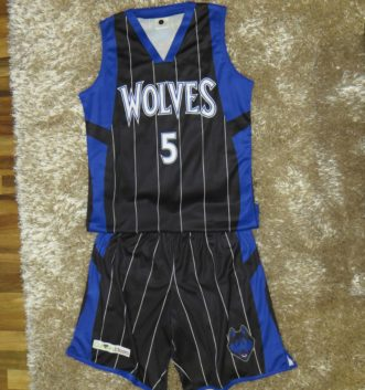 Bb Uniform Wolves