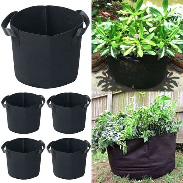Grow Pots Set Round Planter Grow Bags Flower Plant Pouch Root Pots Container Vegetables Garden Nursery Plant Pots Wholesale Melbourne